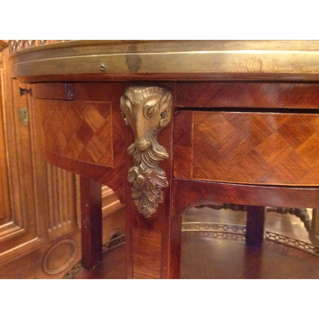 Pair of Fine French Bouillotte Tables For Sale - Image 9 of 13