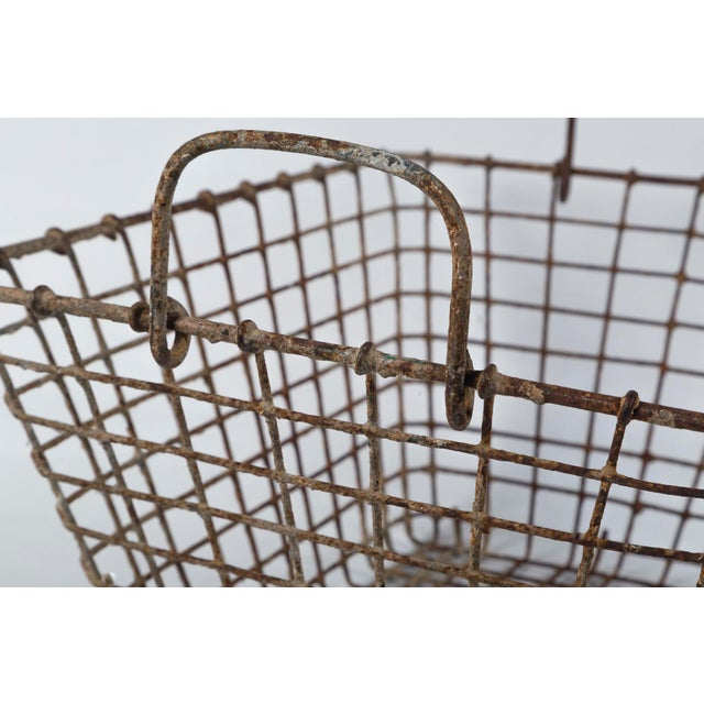 Gray 20th Century French Oyster Baskets - a Pair For Sale - Image 8 of 11
