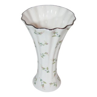 1970s Vintage Gorham Flaired Vase For Sale