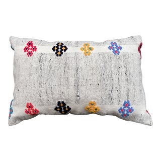 Vintage Late 20th Century Wool Decorative Pillow