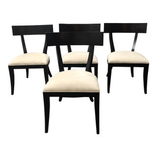 Set of Four Restoration Hardware Dining Side Chairs For Sale