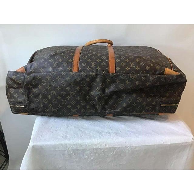 1980s Louis Vuitton soft suitcase.