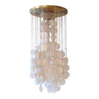 A Verner Panton Ceiling Lamp, Denmark 1960 For Sale