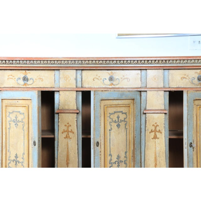 1970s Hand Painted Italian Cabinet For Sale In Los Angeles - Image 6 of 13