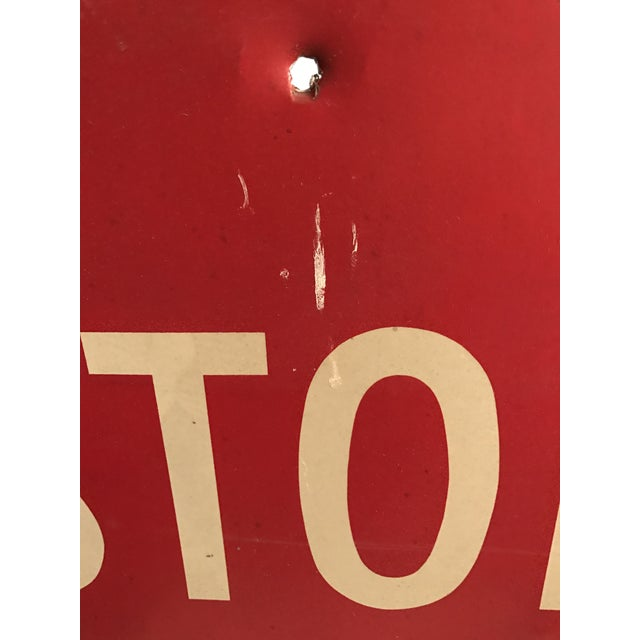 Industrial Stop Road Sign - Image 6 of 6