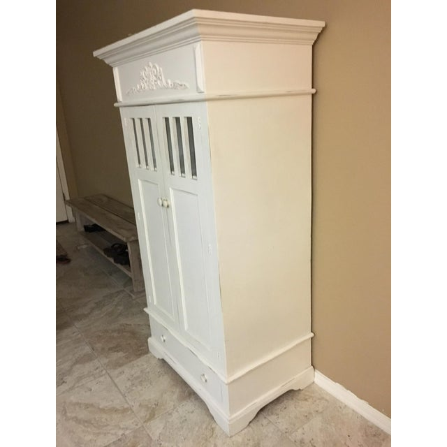 Shabby Chic Cottage Cabinet - Image 3 of 8