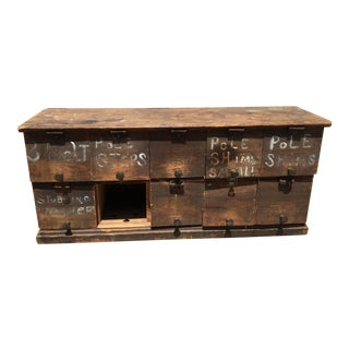 Primitive Tool Chest For Sale