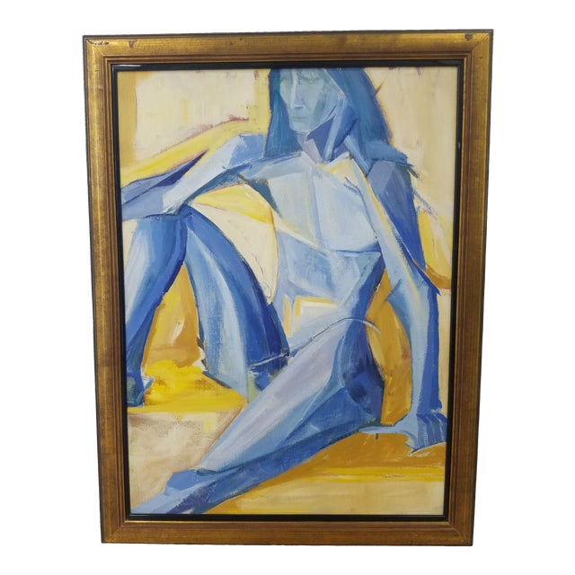 1990s Figurative Abstract Painting For Sale