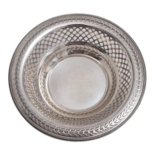 Bailey Banks Biddle Sterling Silver Bowl For Sale