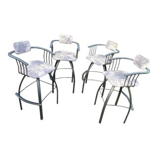 Amisco Bar Stools - Set of 4 For Sale