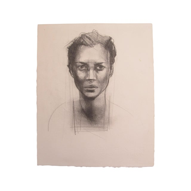 Woman Portrait Drawing - Image 1 of 3
