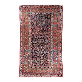 Allover Design Oversized Bijar Carpet For Sale