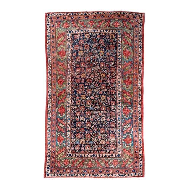 Allover Design Oversized Bijar Carpet For Sale