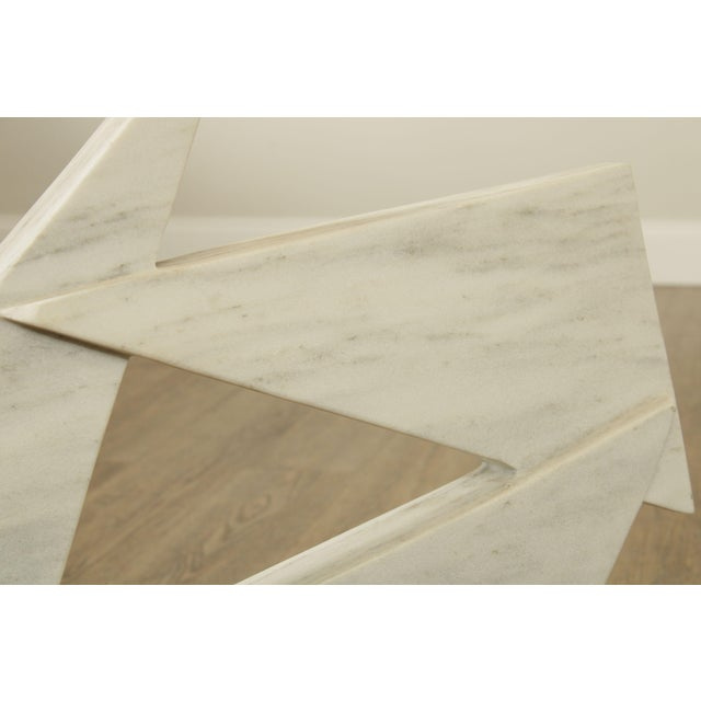 Richard H. Bailey Geometric Marble Sculpture For Sale - Image 9 of 13