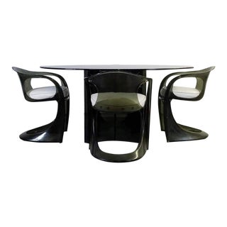 Space Age Dining Set by Steen Østergaard For Sale