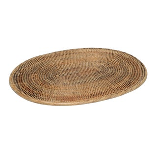 """Artifacts Rattan Oval Placemat 20""""x15"""" For Sale"""