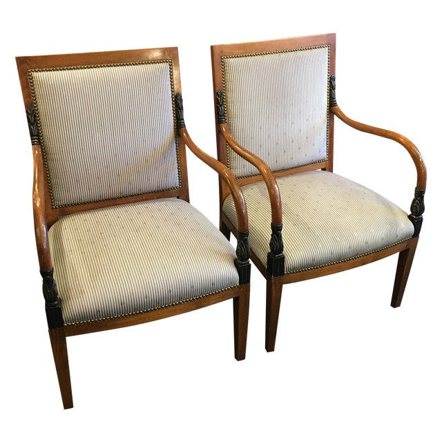 William Switzer Dining Chairs - Set of 4 - Image 1 of 11