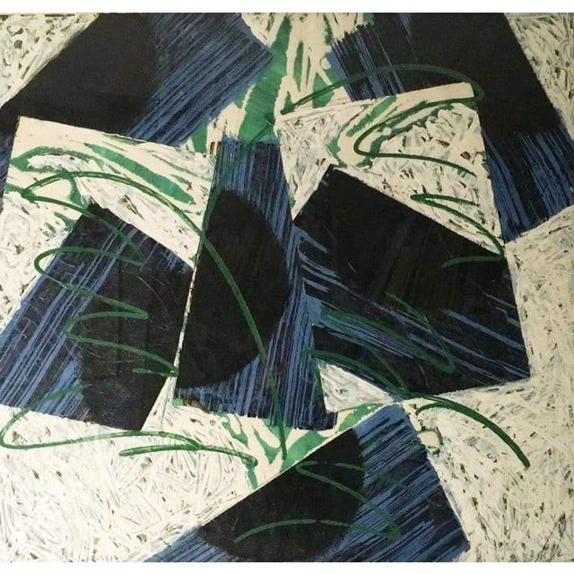 Catharine Warren (10) 2006 Acrylic / Rice Paper Collage on Paper 40″ x 38″