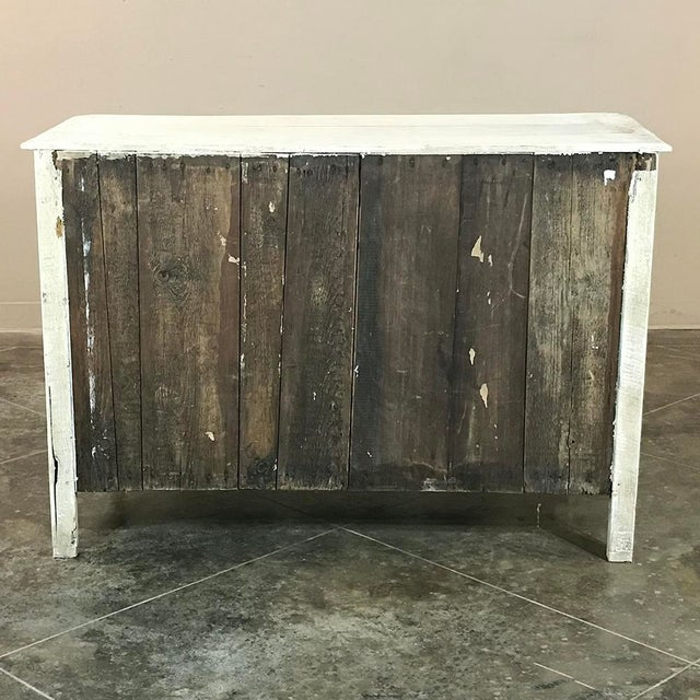 18th Century Country French Provincial Painted Commode For Sale - Image 10 of 11