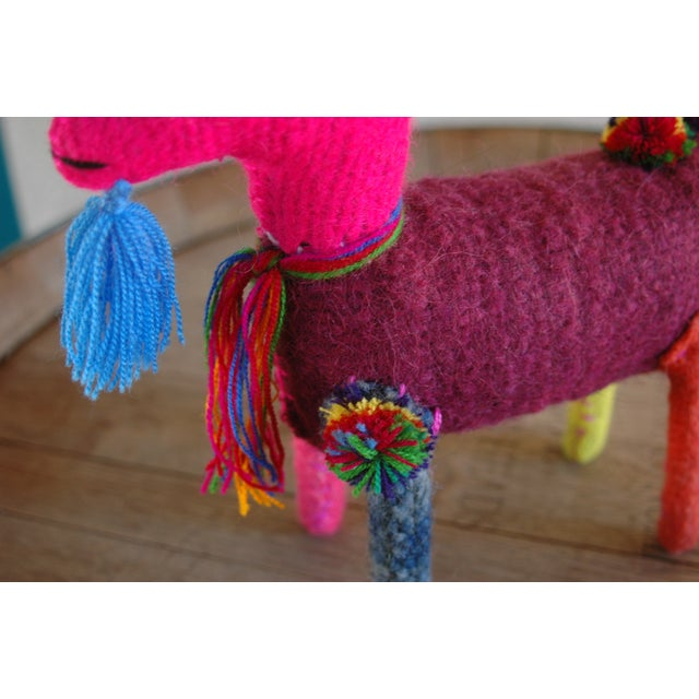 Mexican Felted Wool Animal - Image 4 of 4