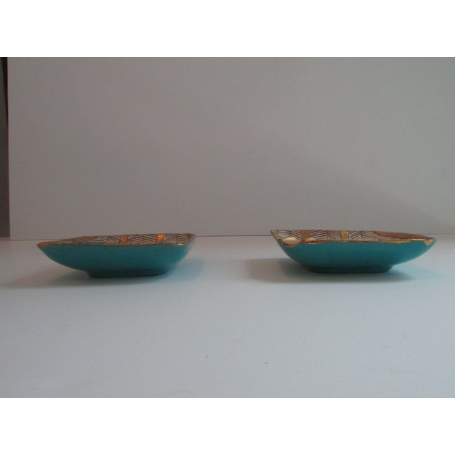 Modern Mid-Century Italian Ashtrays - A Pair For Sale - Image 3 of 4