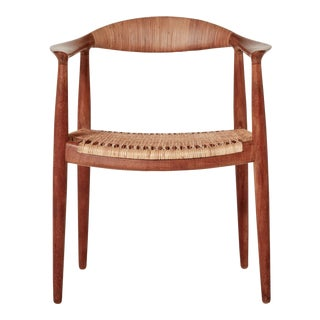 Vintage Mid Century Hans Wegner Model Jh501 Johannes Hansen Chair For Sale