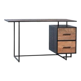 Salvaged Pine 2-Drawer Desk For Sale