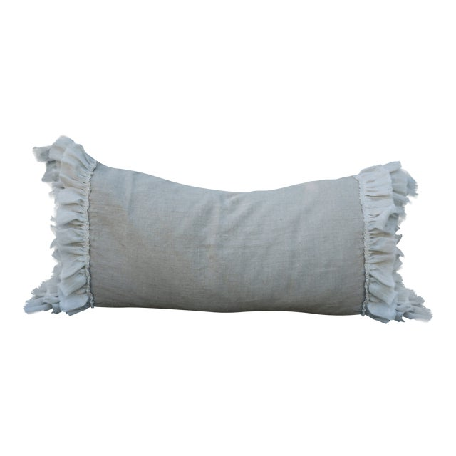 Triple Ruffle Lumbar Pillow - Image 1 of 3