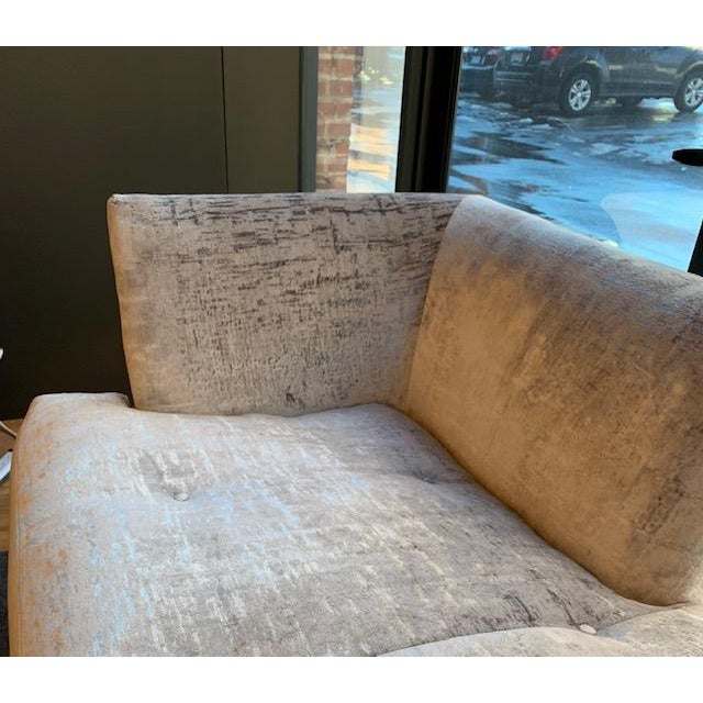 2010s Modern Millington Vanguard Furniture Chaise For Sale - Image 5 of 7