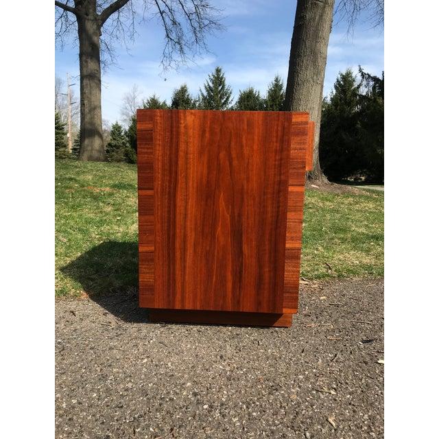 Widdicomb Mid Century Walnut Side Table by Widdicomb For Sale - Image 4 of 7