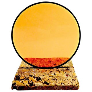 Cinematographers Glass Filter For Cinema. Sculpture Mounted Paperweight For Sale