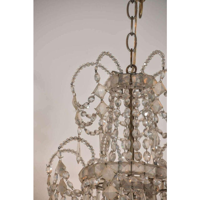 19th Century Seven-Light Crystal Chandelier - Image 10 of 10
