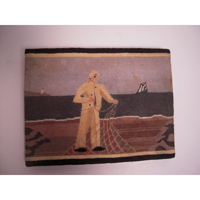 Grenfell Fisherman Hooked Mat - Image 6 of 6