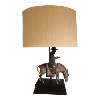 Frederick Cooper Figural Lamp For Sale