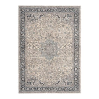 """Emin, Contemporary Gray 9' 0"""" x 13' 0"""" Power Loomed Area Rug For Sale"""