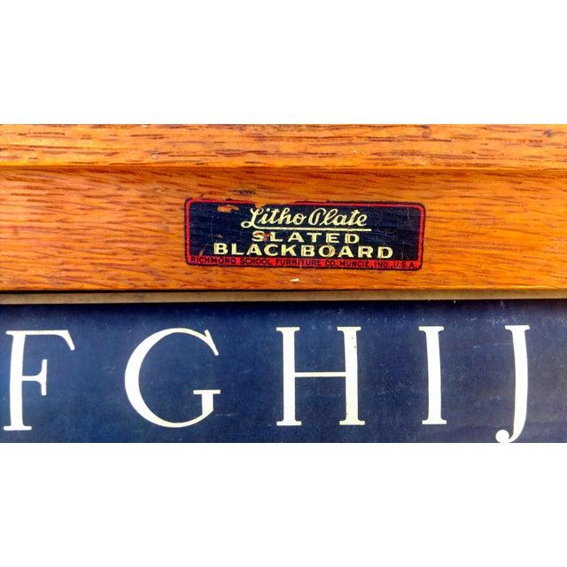 1930s Lithoplate Chalkboard & Art Desk - Image 7 of 10