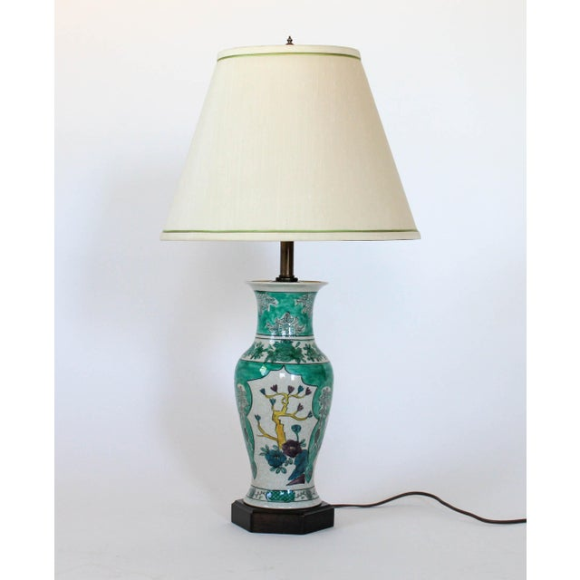 Hand Painted Table Lamp by Frederick Cooper For Sale - Image 11 of 11