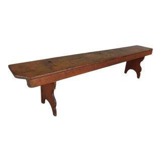 Antique 19th Century Primitive Bench For Sale