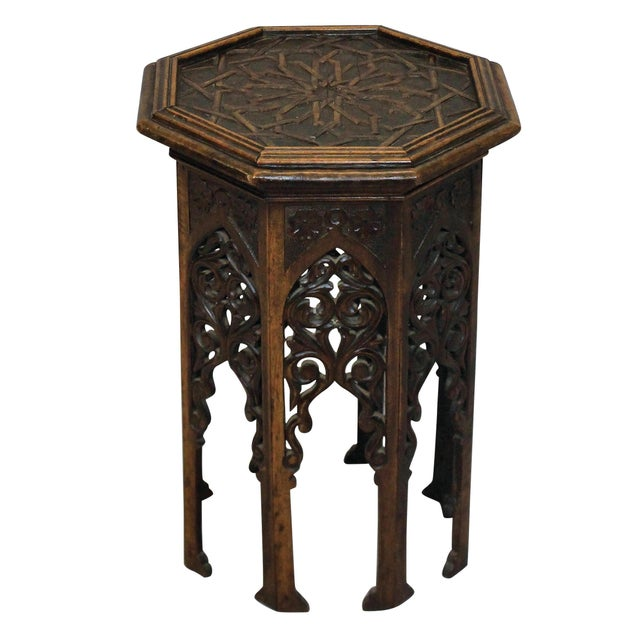 A 19th Century Moorish Table For Sale - Image 4 of 4