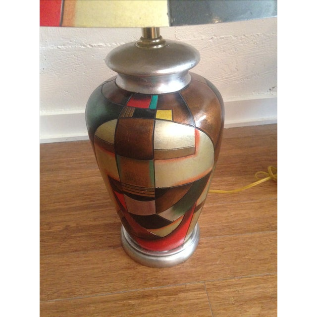C. 1960 Kalifano Art Pottery Lamps - A Pair - Image 5 of 7