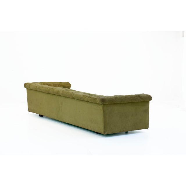 Dunbar Furniture 1950s Mid-Century Modern Edward Wormley for Dunbar Party Sofas - a Pair For Sale - Image 4 of 6
