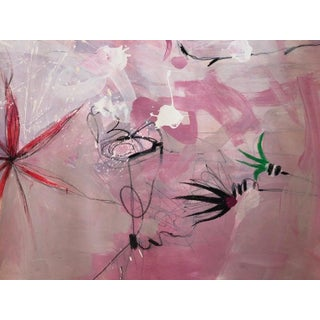 Contemporary Abstract Painting on Paper, Lili Ocean Part 2 Preview