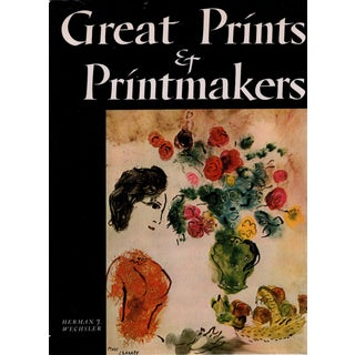 """1977 """"Great Prints & Printmakers"""" Coffee Table Book For Sale"""