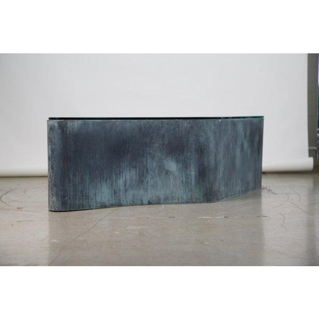 Abstract Custom Handcrafted Brutalist Coffee Table For Sale In Los Angeles - Image 6 of 13