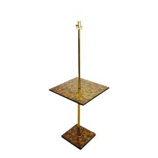 Mid Century Modern Table Top Floor Lamp For Sale