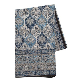 Mehrab Tablecloth, 6-seat table - Indigo For Sale