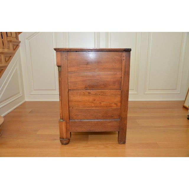 Antique French Lift Top Ice Chest Cabinet - Image 6 of 10