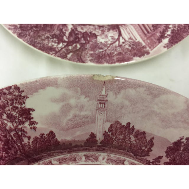 University of California Berkeley Wedgwood Punch Bowl Cups Dinner Plates For Sale - Image 10 of 11