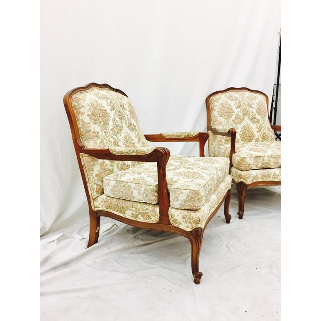 Vintage French Style Arm Chairs - A Pair - Image 6 of 11