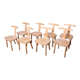 Set of Eight Chairs by Olavi Hanninen for Mikko Nupponen For Sale